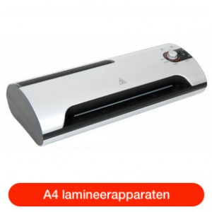 A4 lamineerapparaten
